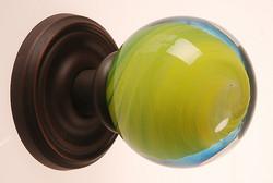 Glass Doorknob