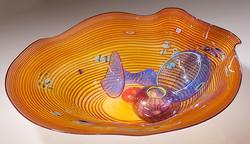 Nesting Sea Forms in orange