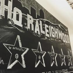 HQ Raleighwood Mural