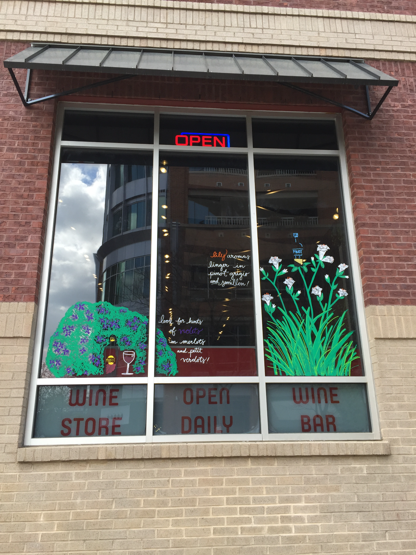 more window Art at WineFeed