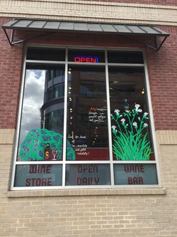 more window Art at WineFeed