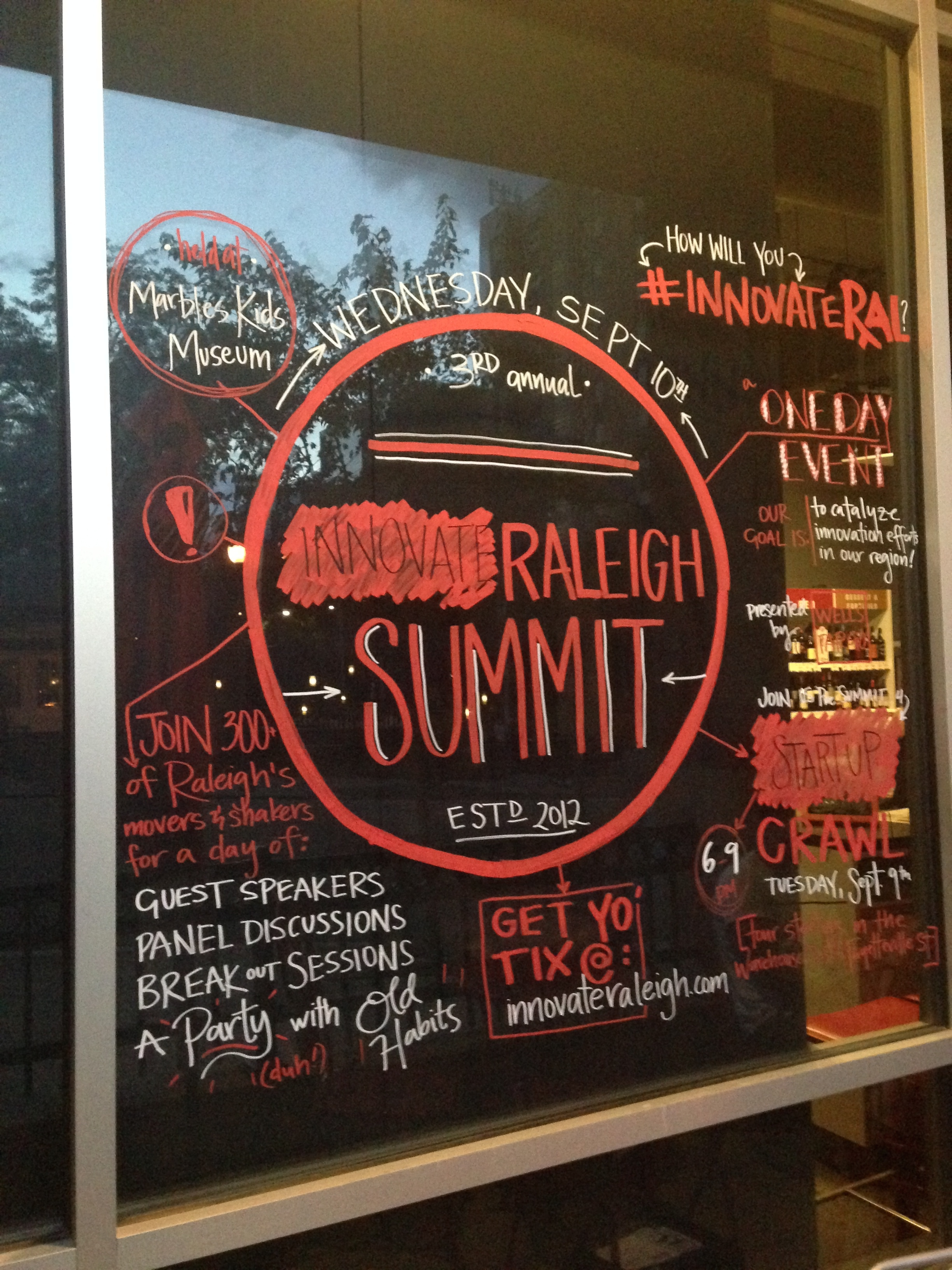 Guerrilla marketing with window art