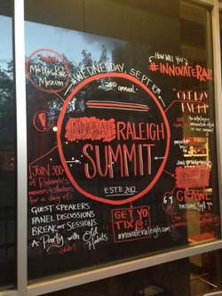 Guerrilla marketing with window art