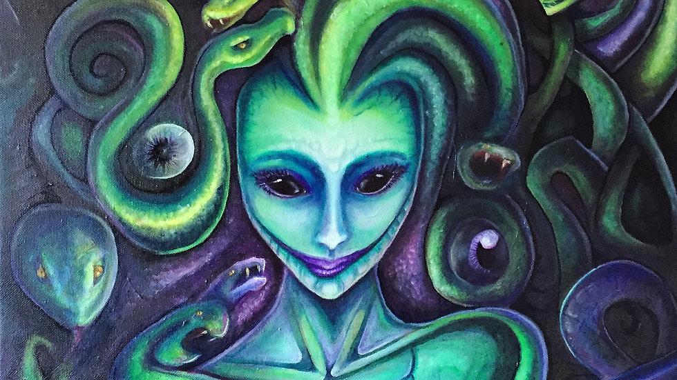 Postcard: Medusa