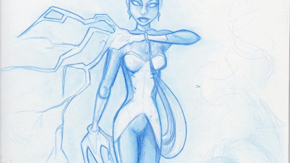 """Sketch Cover: """"Storm Chaser"""""""