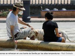 El sombrero de Gilmar en ABC de Sevilla