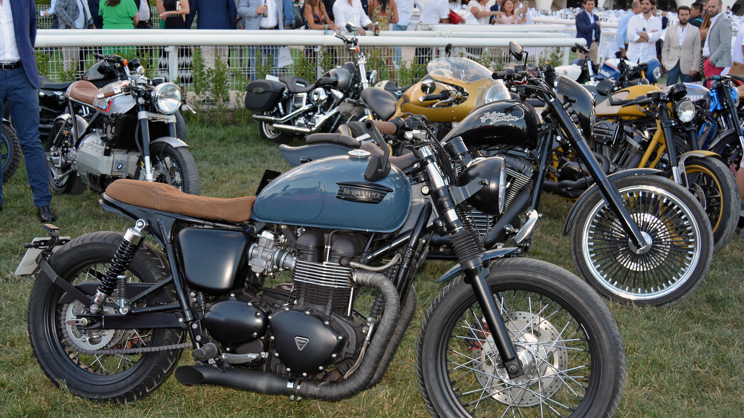 Autobello también tiene su espacio para los amantes de las motocicletas.