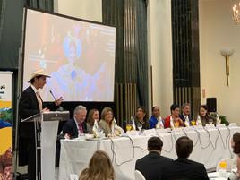 GILMAR con los ministros de Turismo de Centroamérica y República Dominicana en el marco de FITUR