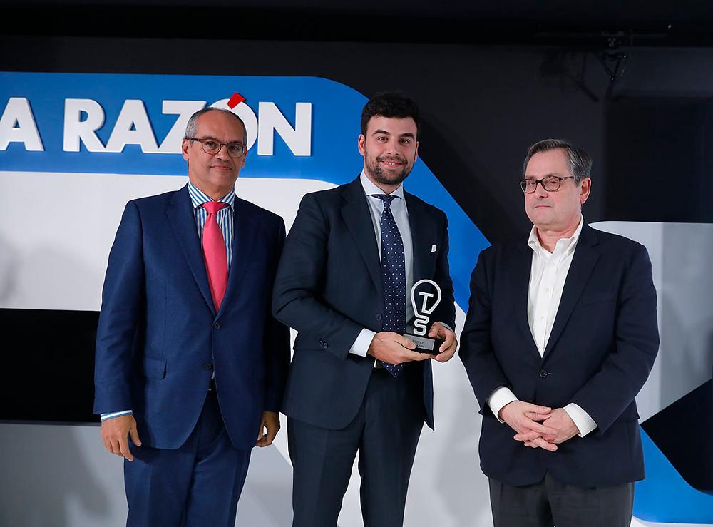 El CDO de Gilmar con el premio