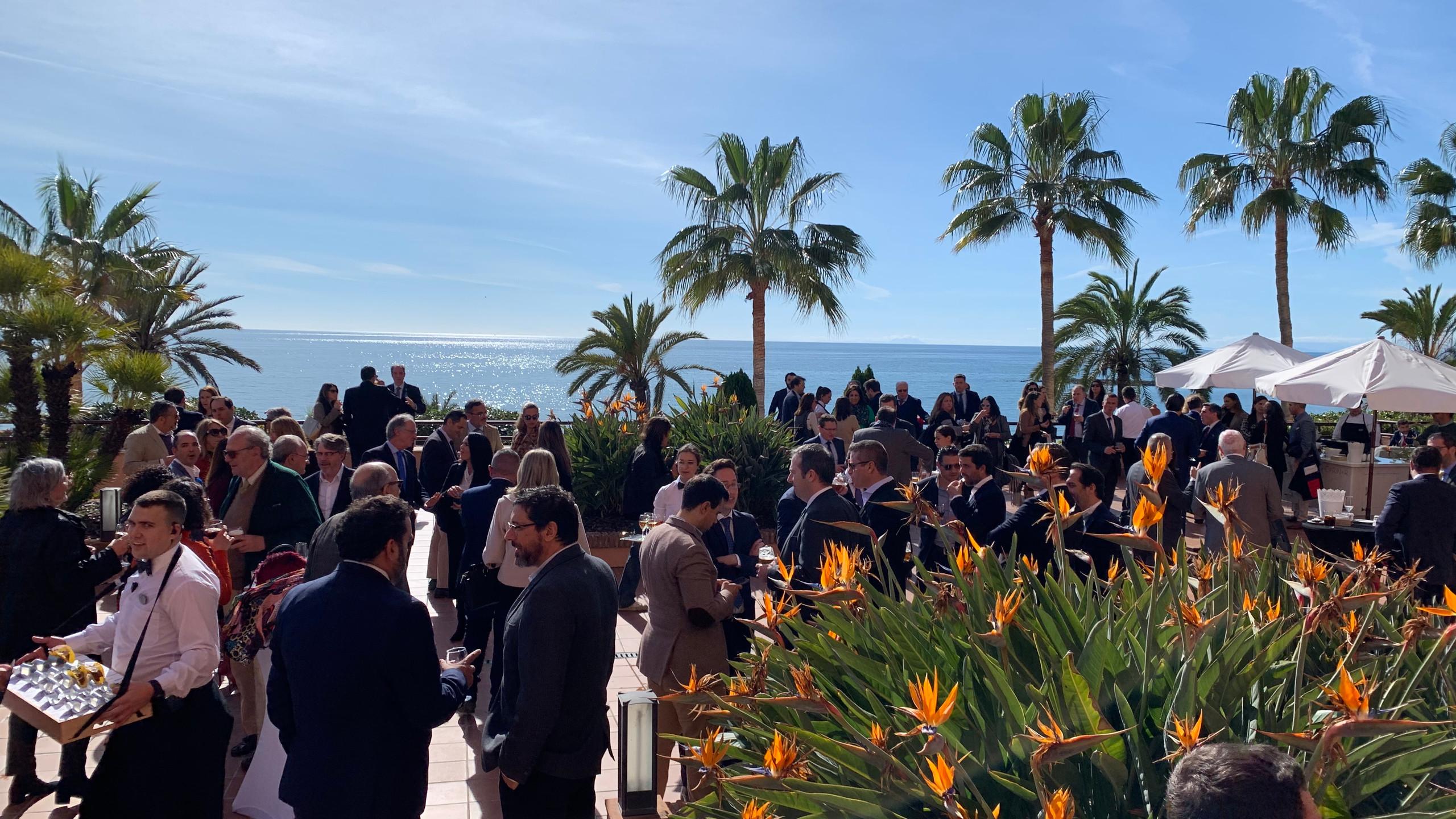 Almuerzo de socios de CIT Marbella