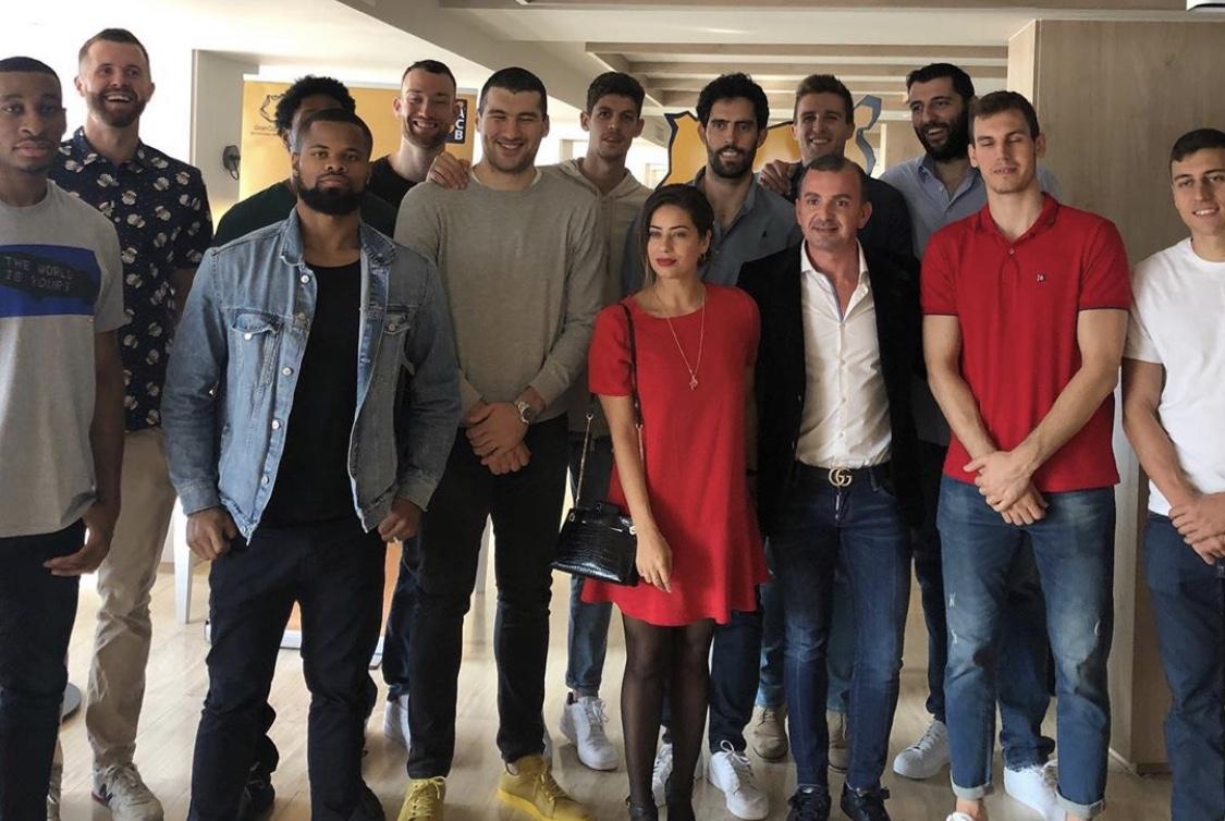GILMAR con Baloncesto Gran Canaria