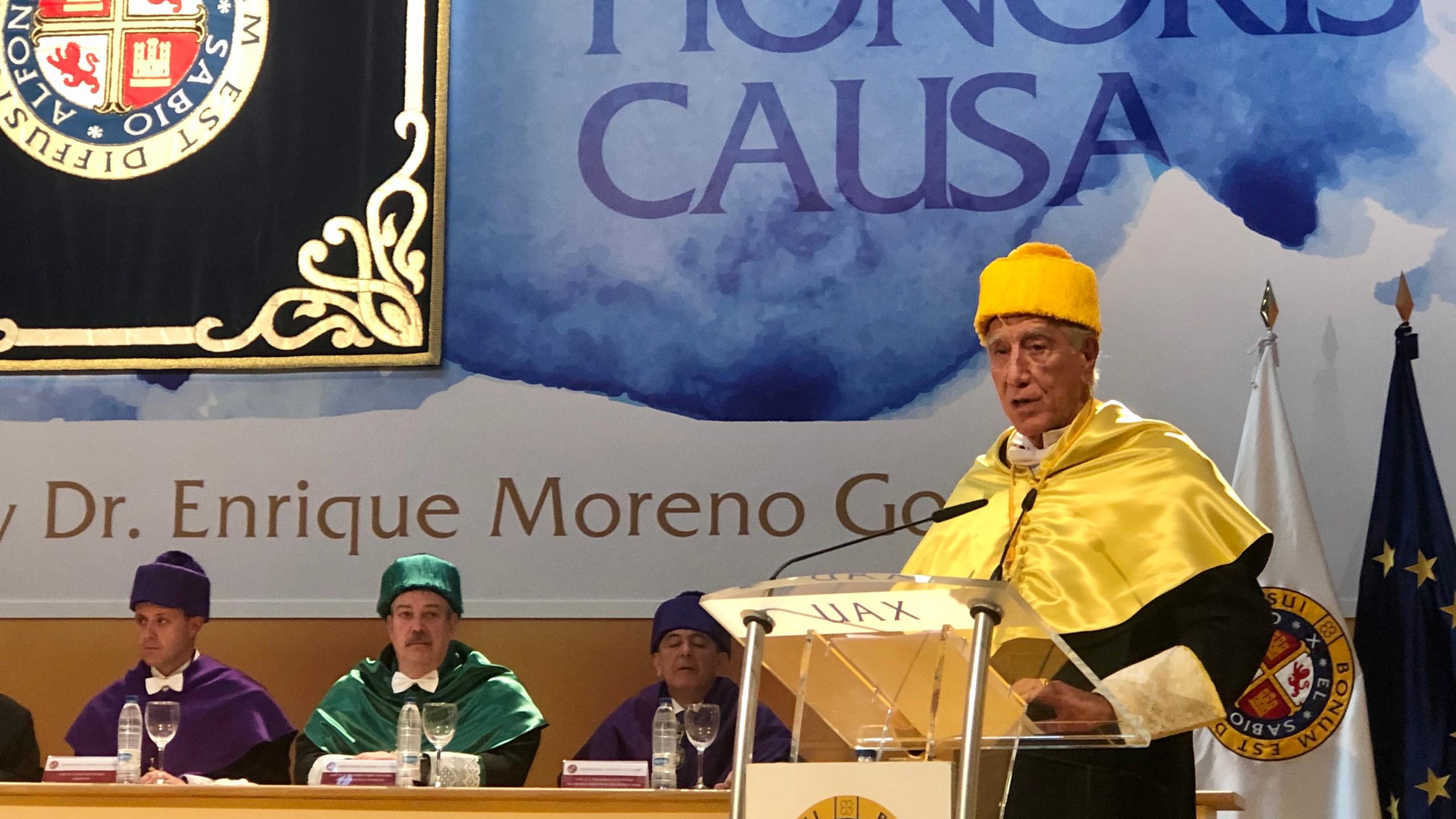 Discurso del Dr. Enrique Moreno
