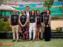 GILMAR Canarias patrocina el Challenger Mercedes-Benz Flick en Las Palmas.
