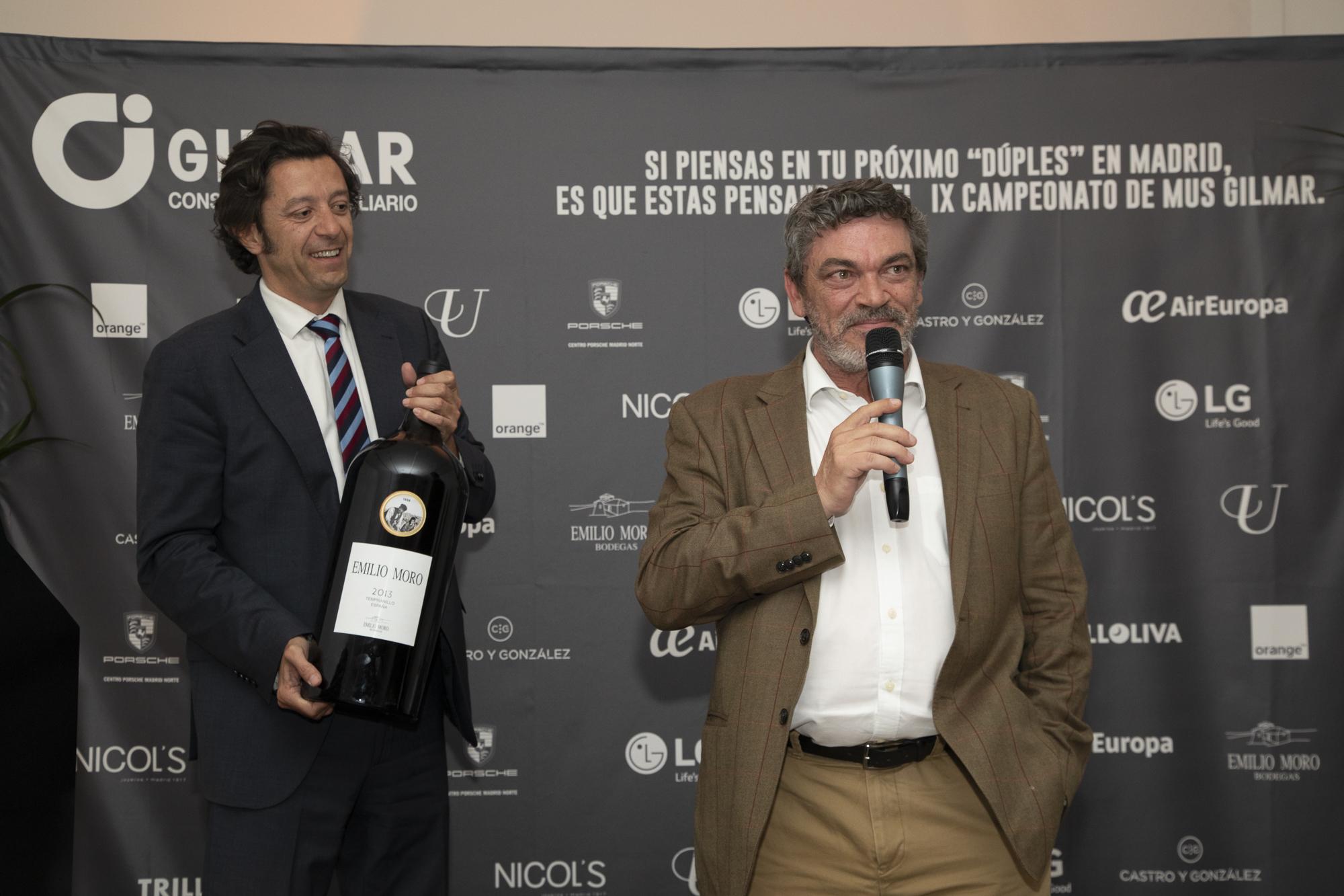 Pedro Valdés ganó la subasta