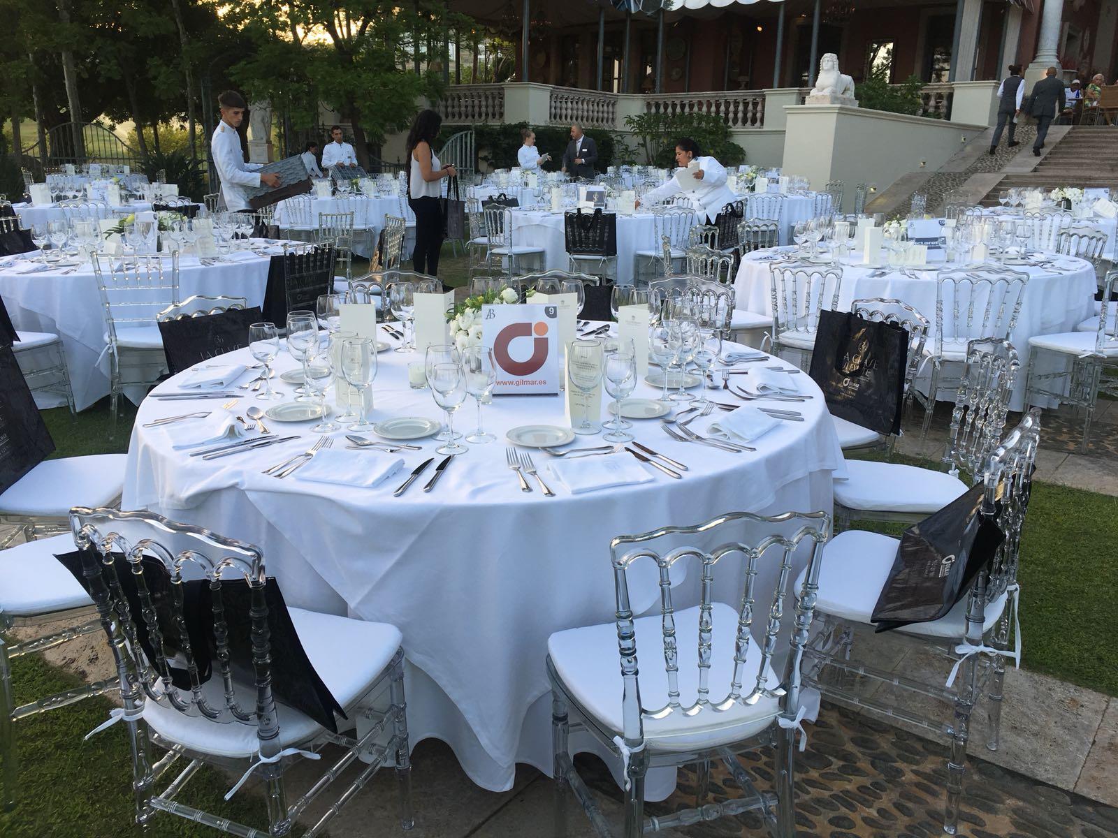 La mesa de Gilmar en Autobello