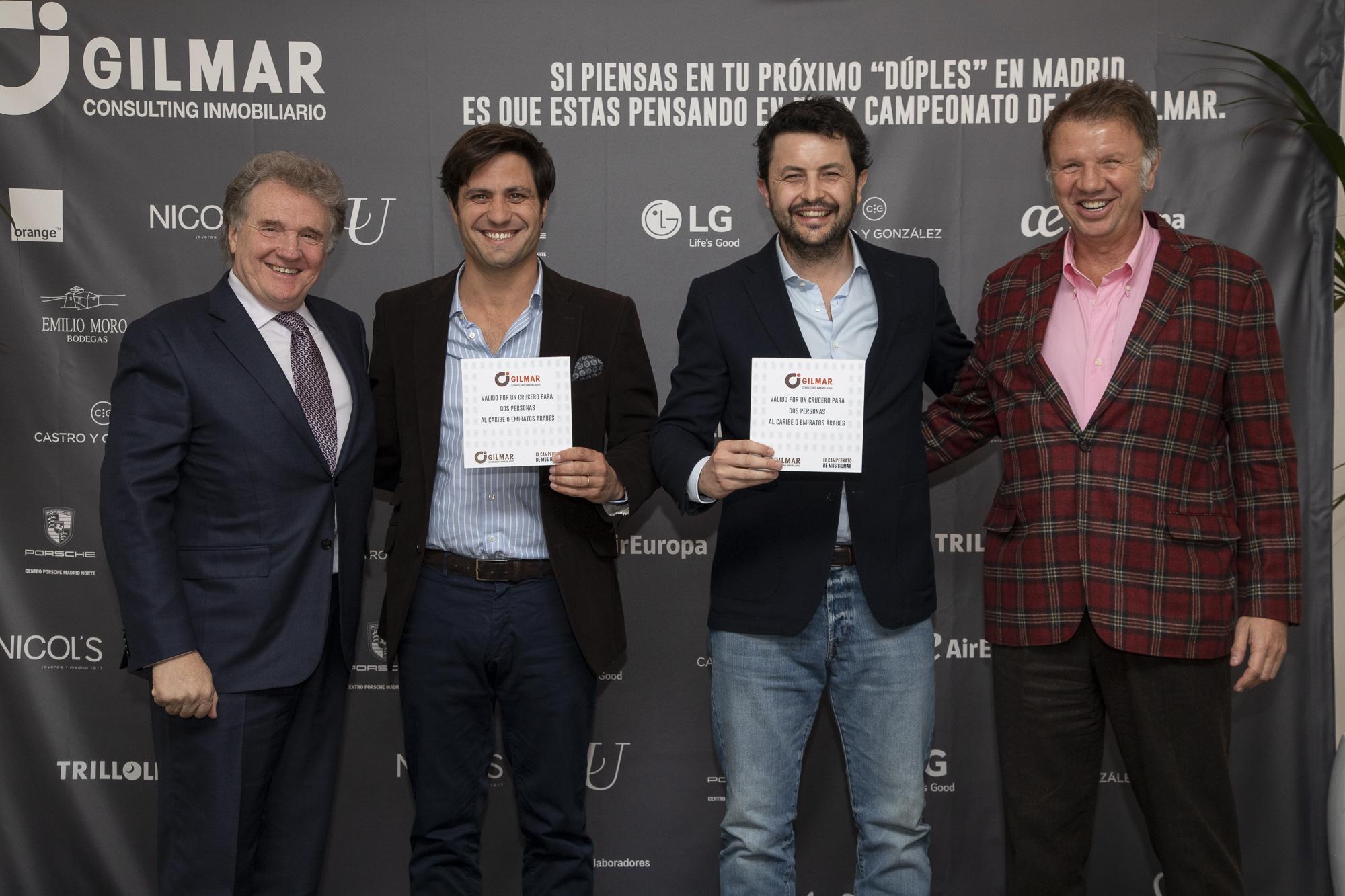 Premio Gilmar a los ganadores
