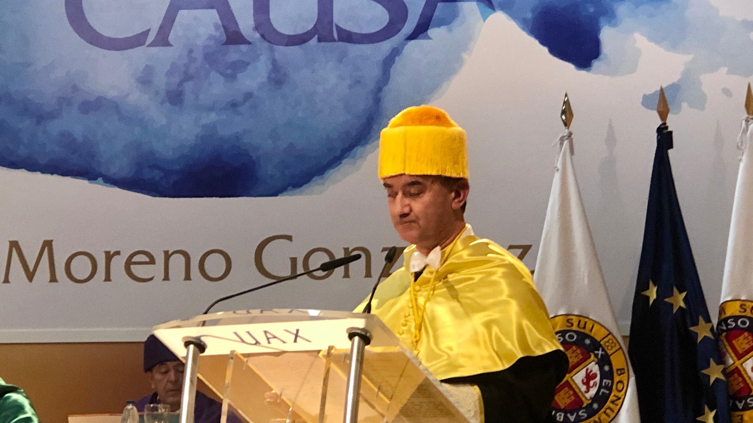 Laudatio: José Antonio Arias Navalón