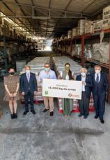 Gilmar entrega 15.000 kilos de arroz a Mensajeros de la Paz