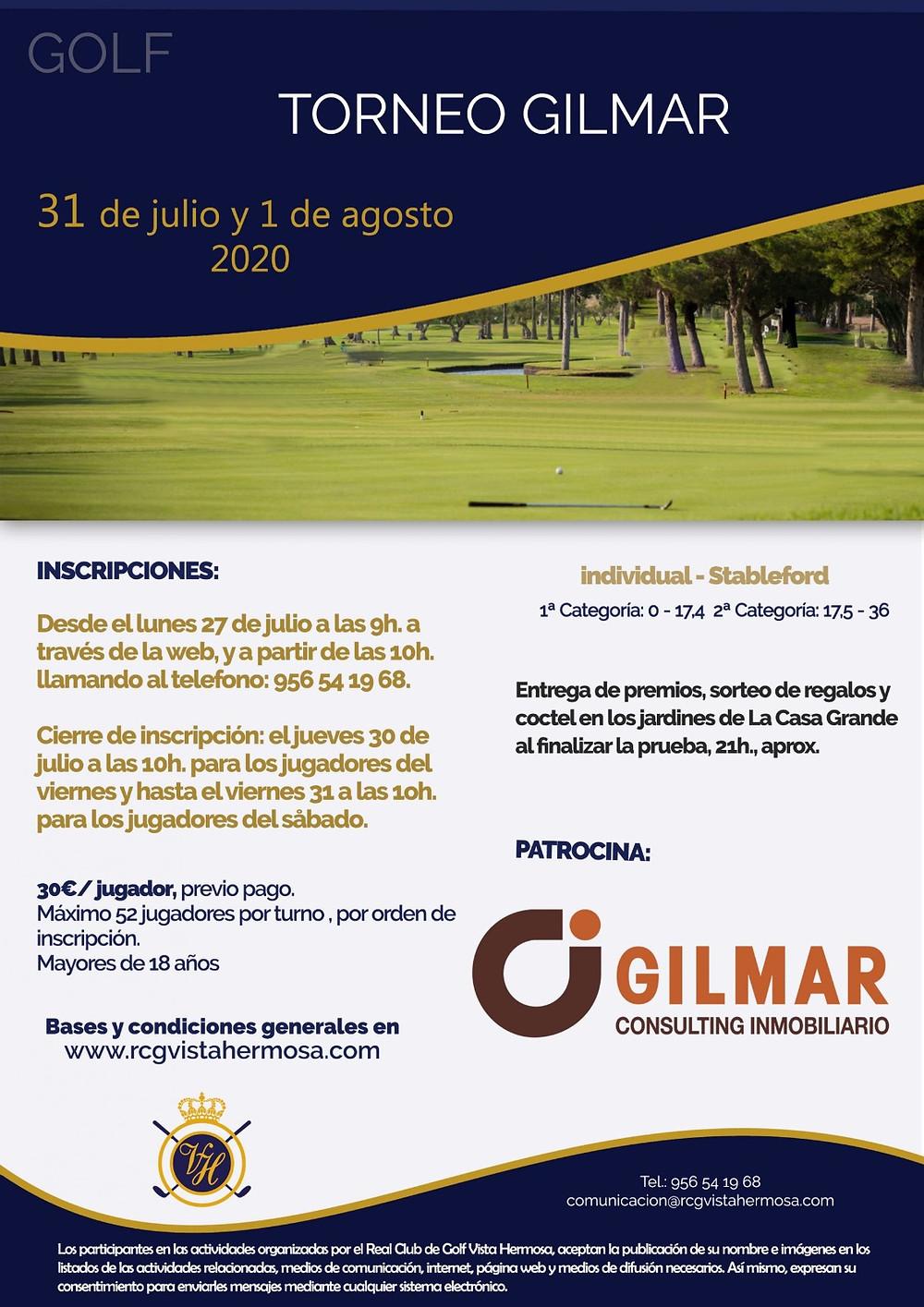 Torneo de Golf Gilmar Vista Hermosa