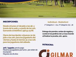 I Torneo de Golf Gilmar Vista Hermosa