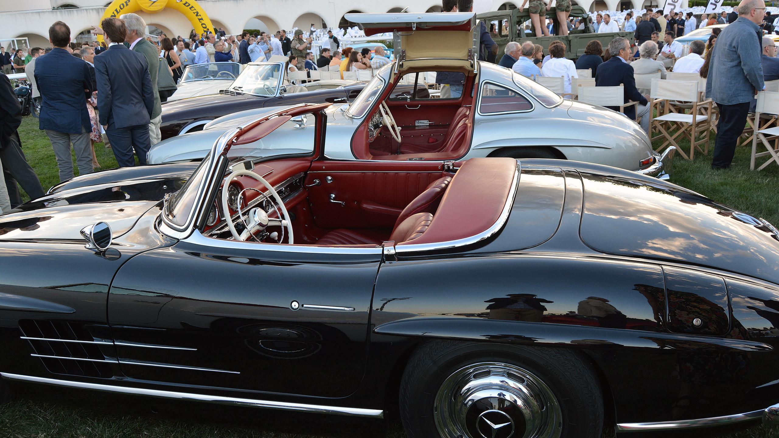Mercedes ha sido referencia de lujo y exclusividad desde sus inicios. Y más si hablamos de las históricas 'alas de mariposa'.