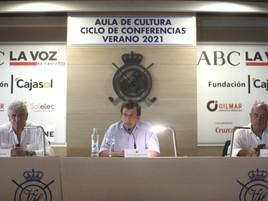 El Aula de Cultura de Vista Hermosa recibe al alcalde de Madrid con el patrocinio de GILMAR