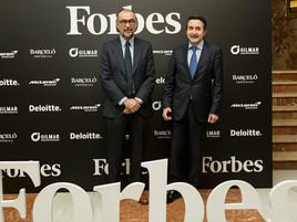 Gilmar patrocina los premios Forbes al mejor CEO del año