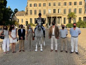 Gilmar patrocina el concurso de doma de la Real Escuela Andaluza de Arte Ecuestre