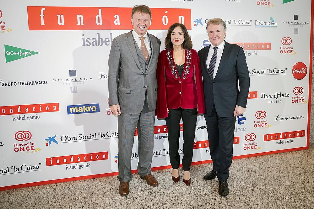 Isabel Gemio con los CEO de Gilmar
