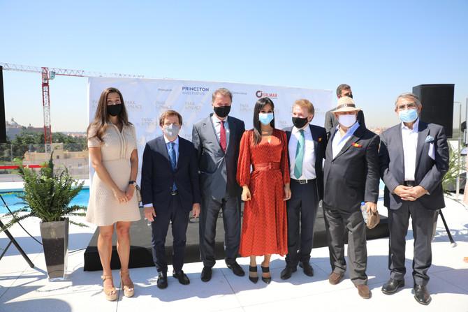 GILMAR y Princeton Investments inauguran Park & Palace con la presencia del alcalde de Madrid