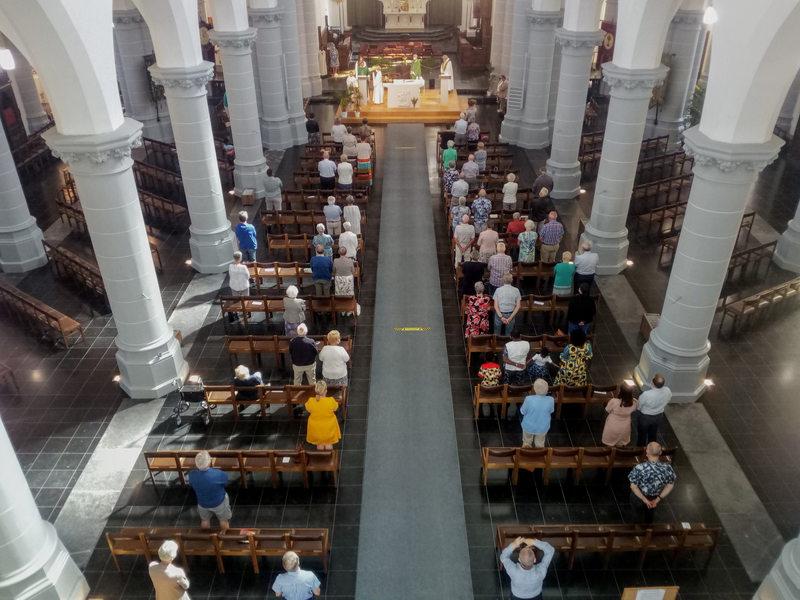 De Martinuskerk na de tweede lockdown
