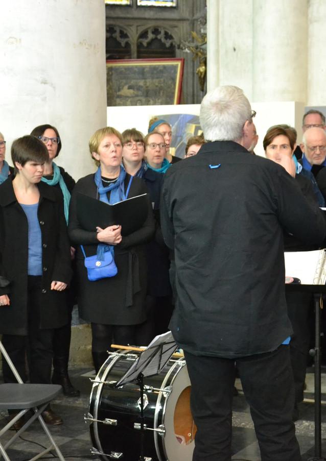 Het koor AGUR uit Duffel