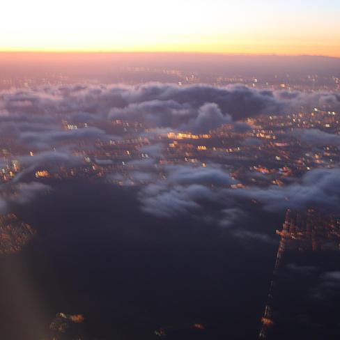 Vol au dessus de Paris