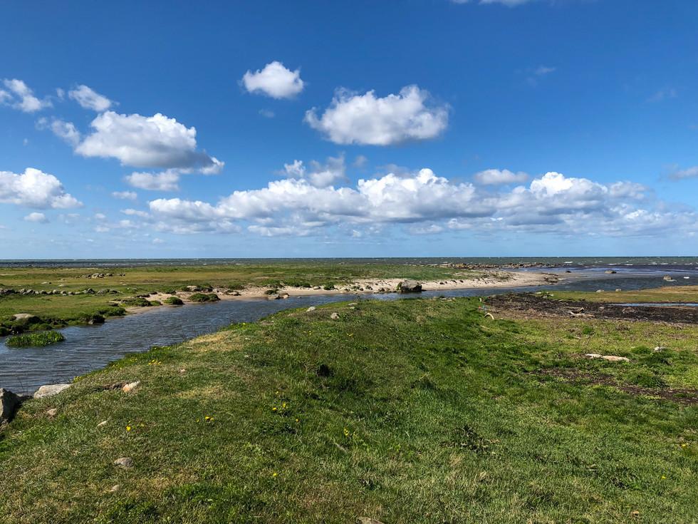 Ramsjökanals mynning