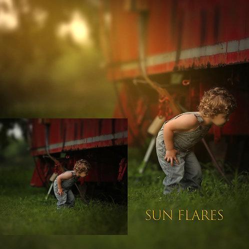 Sun Flare Overlays