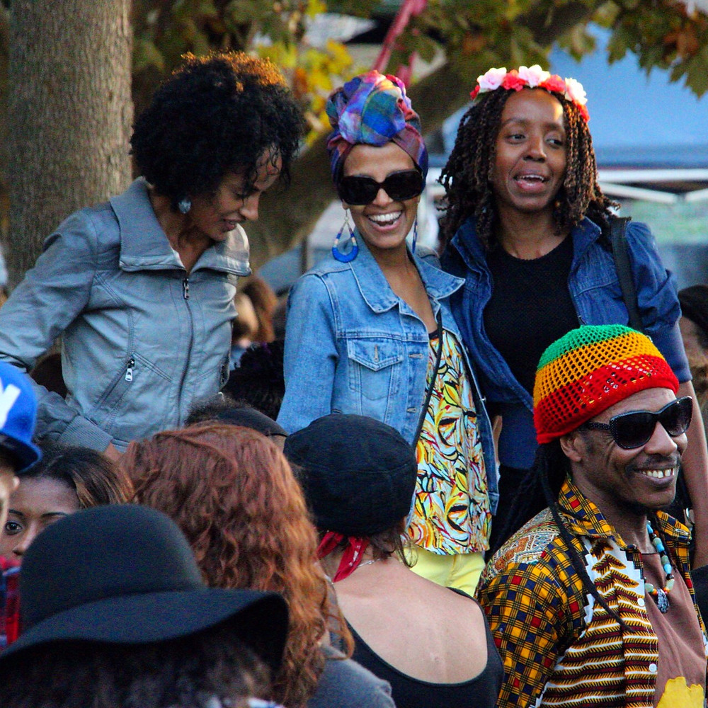 Suki Foster Photography Reggae Carnival Markets Crowd Shot