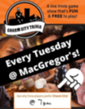 Every Tuesday @ MacGregor's!.png