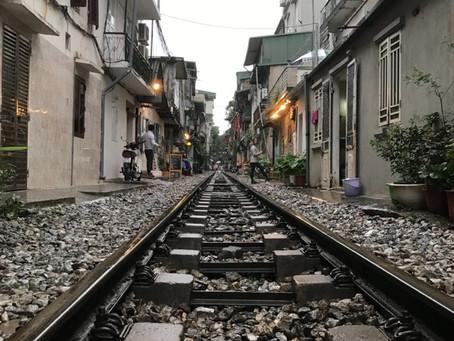 하노이 철길마을 ハノイ鉄道村
