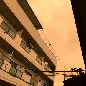 태풍전야 台風前夜