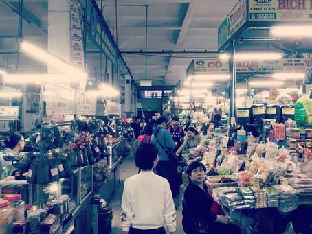 다낭 한시장 ダナンハン市場
