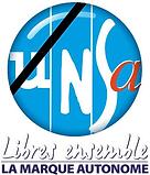 LOGO ROND UNSA LIBRES ENSEMBLE MARQUE AU