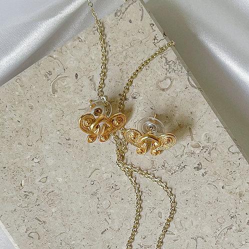 Tairona Butterfly Earrings