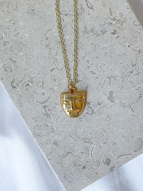Tairona Mask necklace