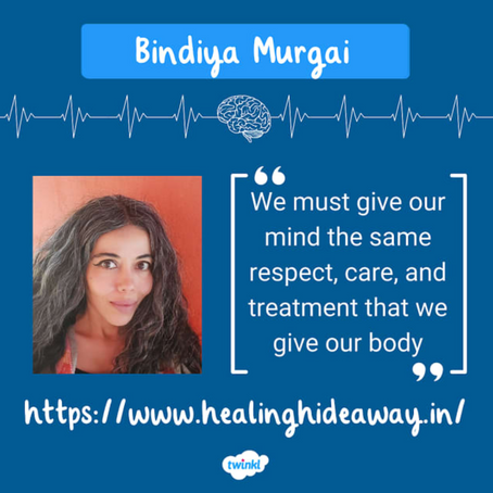 """Twinkl asked me, """"What more can be done to increase mental health awareness?"""""""
