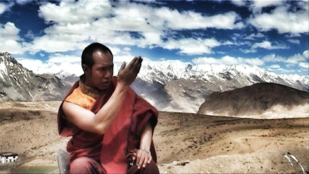 Lama Karzan, Monk From Komik, Spiti Valley, Himachal Pradesh,Himalayas, India