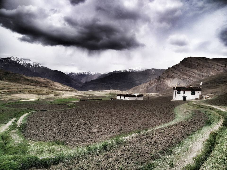 Langza, Spiti Valley, Himachal Pradesh,Himalayas, India