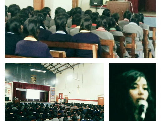 Workshop on Peer Pressure, Self Esteem and Stress Management for Students