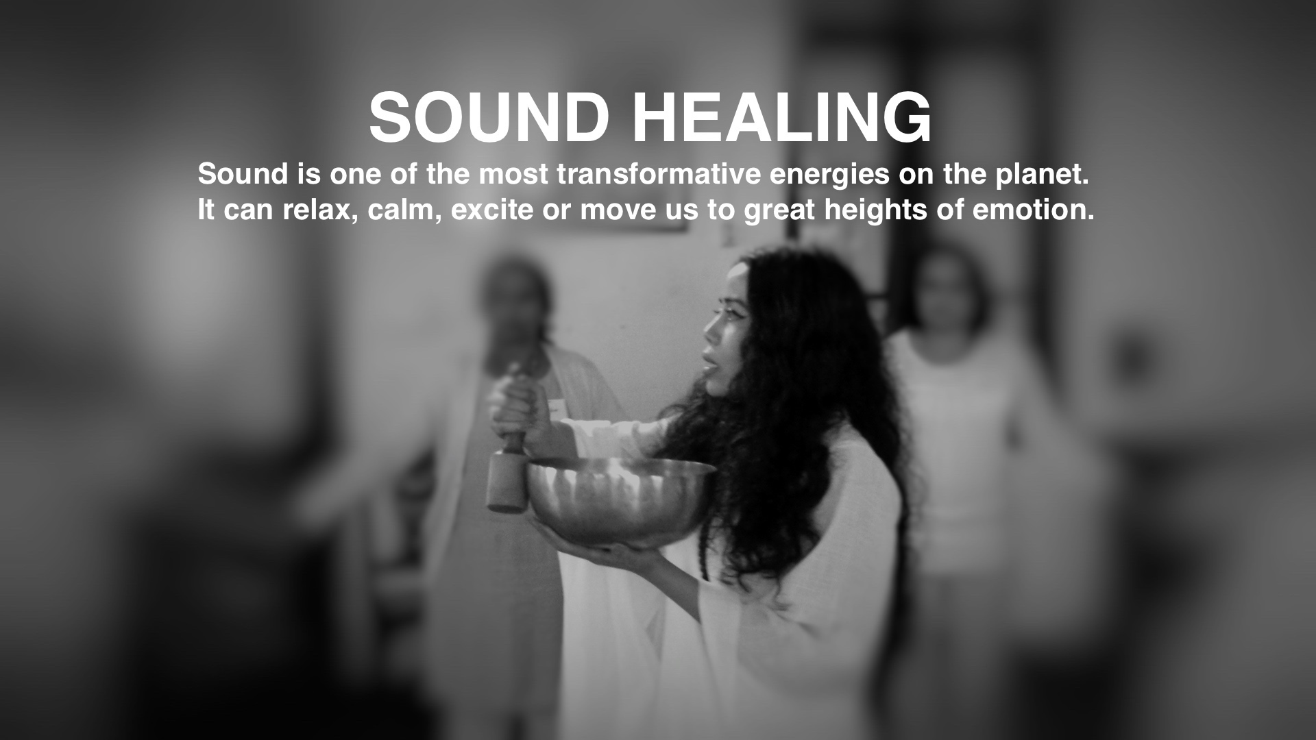 Sound Healing sessions are conducted by Bindiya Murgai of Healing Hideaway, for both individuals and groups.