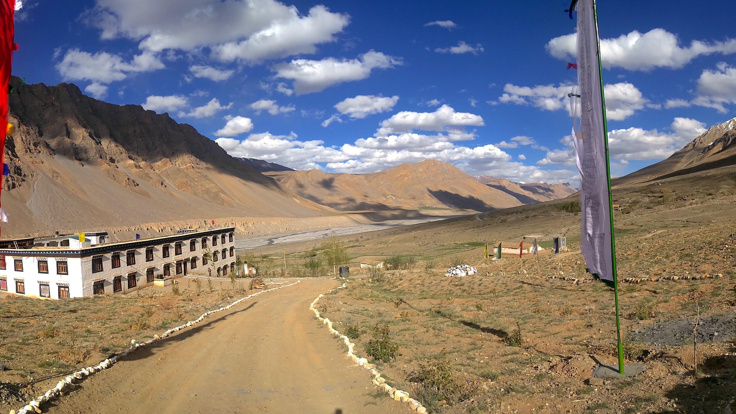 Buddhist Nunnery, Spiti Valley, Himalayas, India