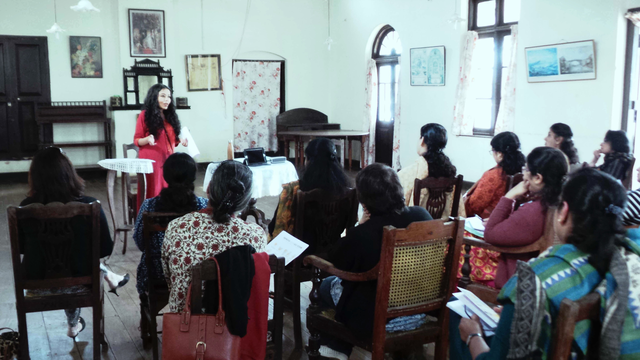 This is one of the series of Workshops conducted by Bindiya Murgai from Healing Hideaway and Dr. Sheela Nambiar from TFL. Bindiya focuses on the mental wellness and psychological part, while Sheela talks about the physical fitness aspect.